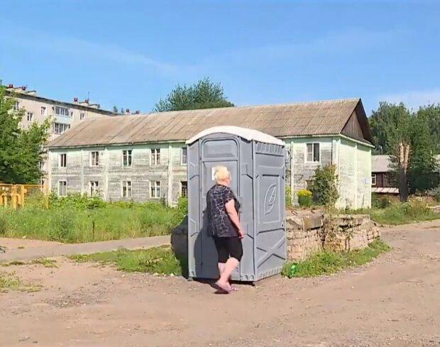 """""""Ривок з колін"""" на путінському телебаченні повеселив увесь світ: """"В біотуалет заходять перші відвідувачі"""""""