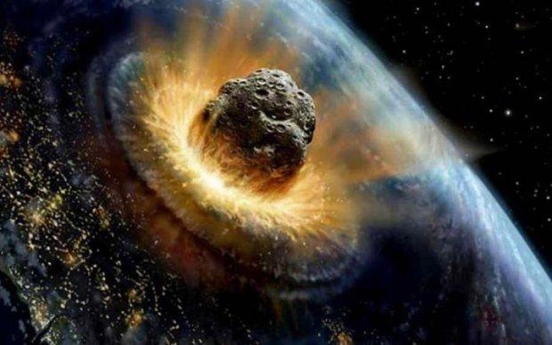 Невероятно! Падение метеорита на Землю засняли из космоса
