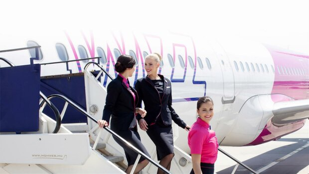 Лоукостер Wizz Air, aviokase.lv