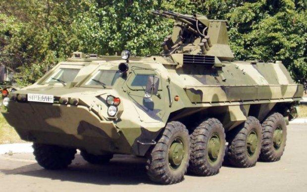 Українські БТР в Іраку: з 88 поїхало менше половини
