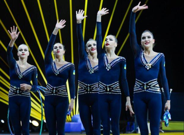 Гімнастки, фото: facebook.com/zelenskiy95