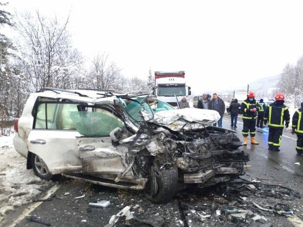 ДТП на Львівщині, фото Національної поліції