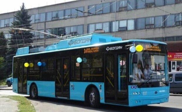 Тролейбус, фото: Facebook