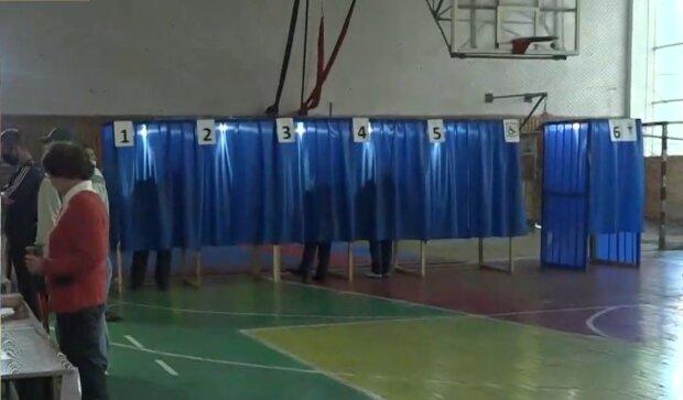 Местные выборы в Украине, фото: кадр из видео