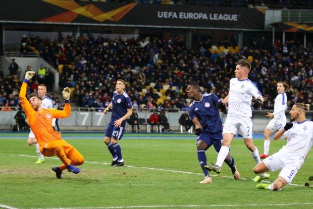Динамо зіграє з грандом у наступному етапі Ліги Європи