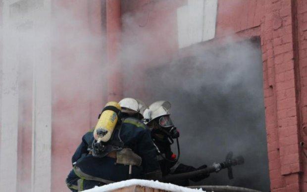 Киевлянин устроил стрельбу и пожар, - соцсети