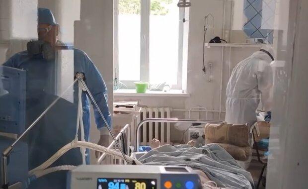 Коронавірус в Україні, скріншот з відео