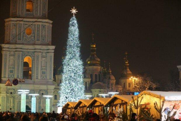 Новый год в Киеве фото: Униан