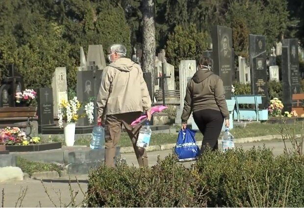 Кладбище, скриншот YouTube