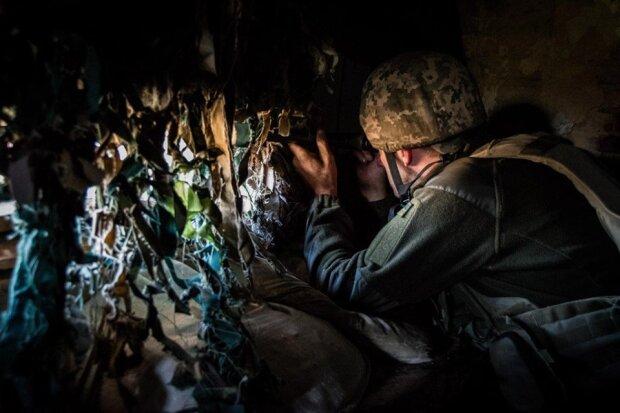 Небо Донбасса прорезали десятки обстрелов: украинские герои мужественного держали позиции на День защитника
