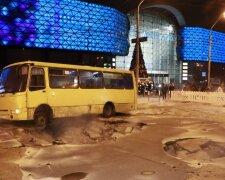 Аварія біля Ocean Plaza в Києві, фото: Інформатор