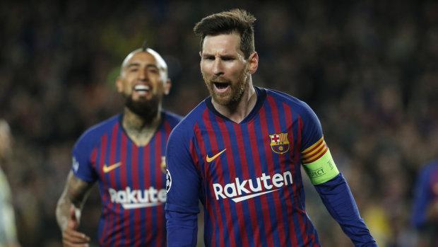 Барселона 12-й раз подряд вышла в четвертьфинал Лиги чемпионов