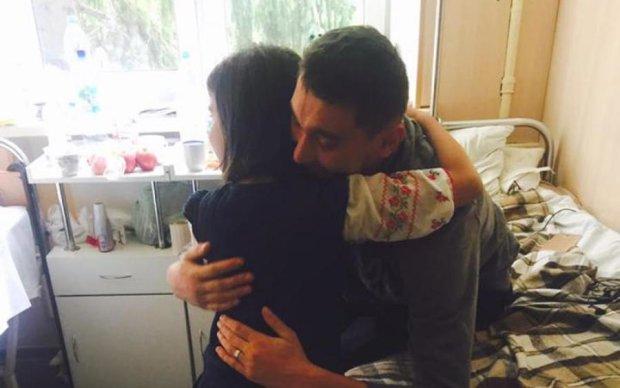 До сліз: дочка Марічки Падалко зворушила поранених бійців