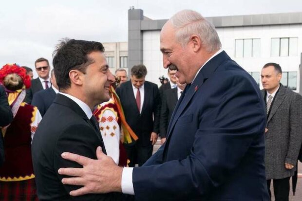 Зеленский и Лукашенко во время форума регионов Украины и Беларуси в Житомире, октябрь 2019 года