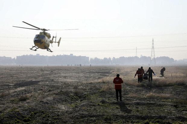 українські рятувальники злили у мережу відео з місця падіння літака МАУ