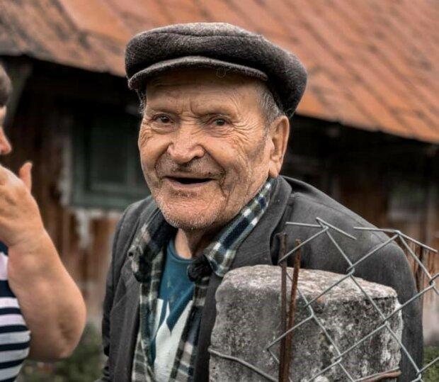 Дед Василий, фото со страницы Юлии Сливки