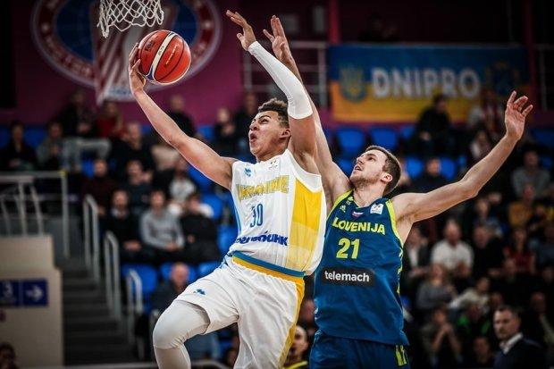 Сборная Украины по баскетболу проиграла словенцам в матче отбора к ЧМ-2019