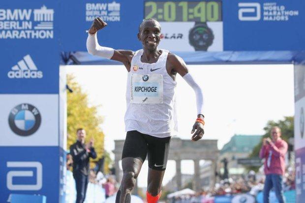 Неймовірний результат: бігун зКенії побив світовий рекорд марафонського забігу