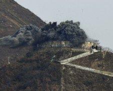 вибухи на кордоні Корей