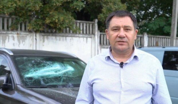 Василь Максимюк про розбите авто Андрія Шалєєва, скріншот
