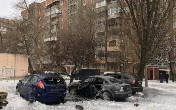 Потужний вибух у центрі Донецька: у мережу злили нове відео