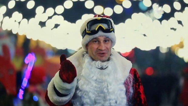 Виталий Кличко, кадр из видео