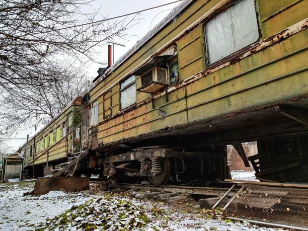 Вагонне містечко в Усатово (Одеська область), фото: Facebook / Тарас Осипов