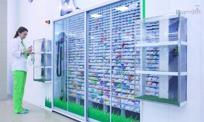 Аптека, ліки - фото youtube