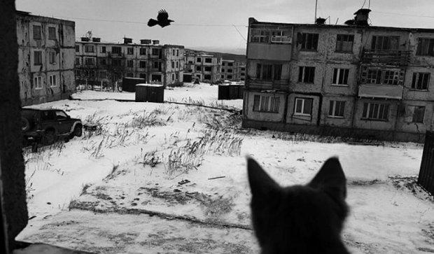 Жизнь военного городка на острове Итуруп (фото)
