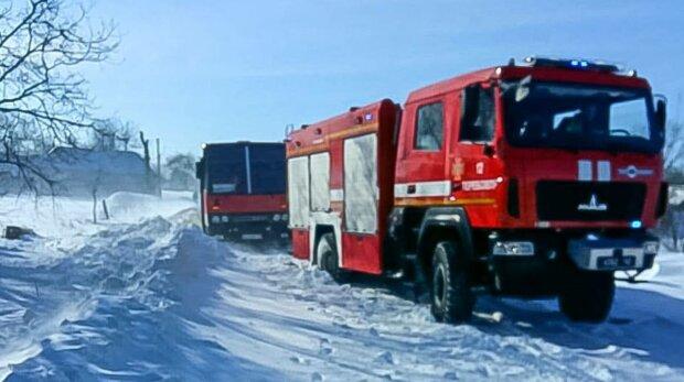 Спасатели, фото: ГСЧС в Тернопольской области