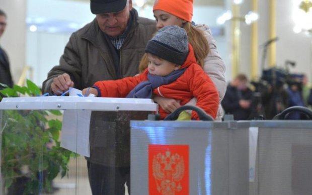 Активист поедает кандидата выборов в РФ: видео