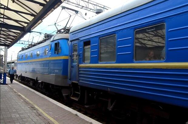 Потяг Укрзалізниці, фото: кадр з відео
