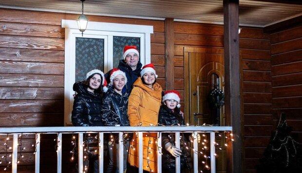 Маричка Падалко с семьей, фото с Instagram