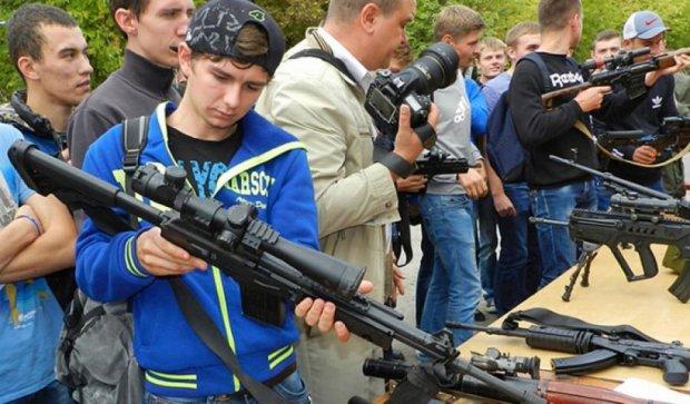 Вінницьку молодь мотивували вступати до Національної гвардії (фото)