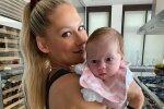 Анна Курнікова з донькою, фото: Instagram