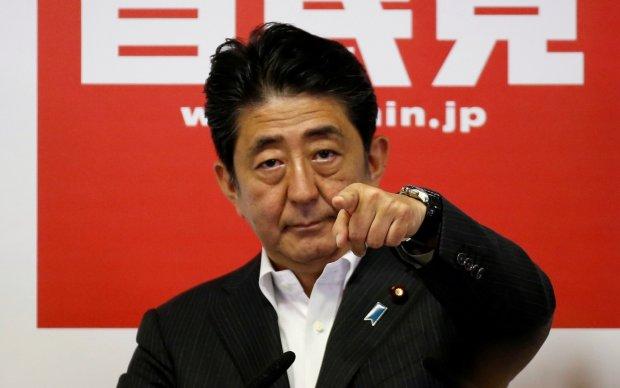 Абэ мечтает слиться с Путиным в дружеском экстазе