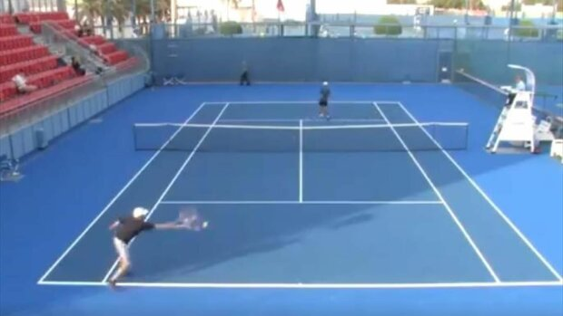 Артем Бахмет зганьбився на турнірі ITF в Досі