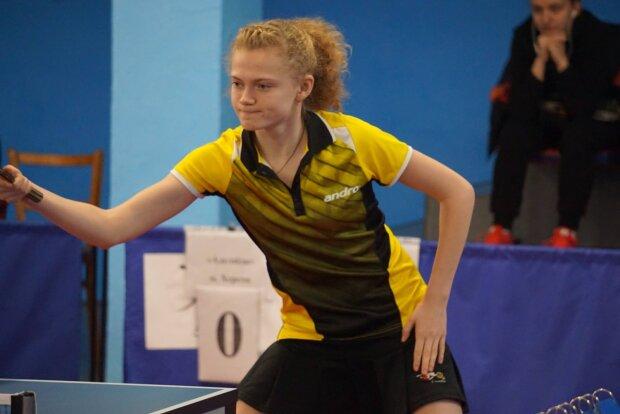 Юна українка виграла чотири золота на чемпіонаті Європи з настільного тенісу