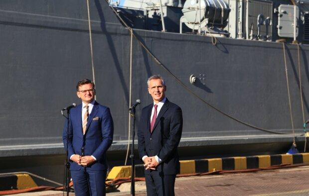 Україна відмовилася від членства в НАТО? Кулеба дав чітку відповідь після візиту Столтенберга