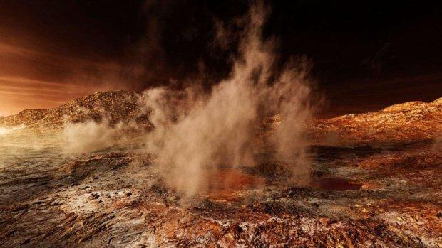 Земля такое не выдержит: NASA показала кадры катастрофы на Марсе