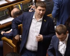 Вячеслав Медяник на заседании парламента