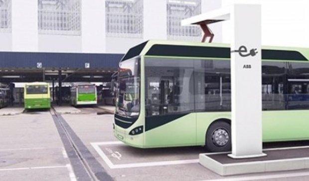 Испытания первого электробуса начались во Львове
