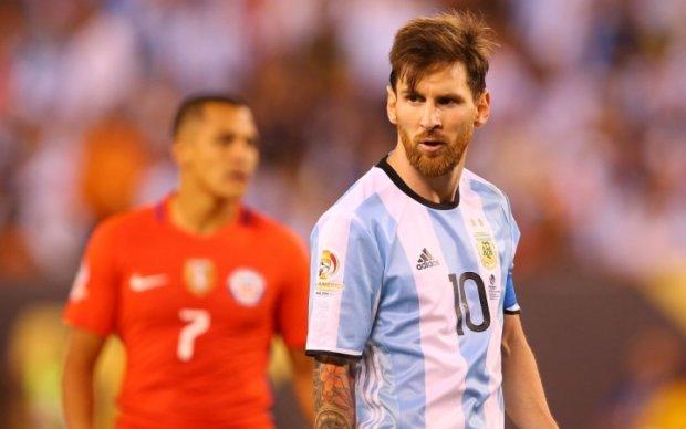 Гол Месси помог Аргентине победить Чили