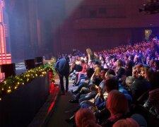 Концерт-запись Новогоднего Вечернего Квартала, фото Знай.uа