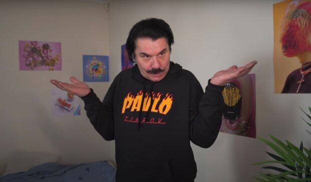Павел Зибров, скриншот из видео