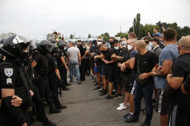 стычки на Барабашова, фото: insider news