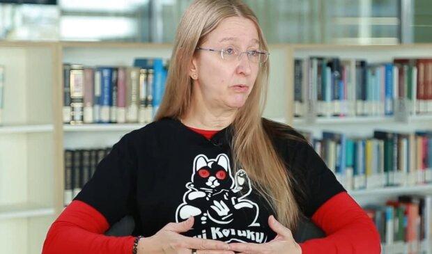 Уляна Супрун, скріншот з відео