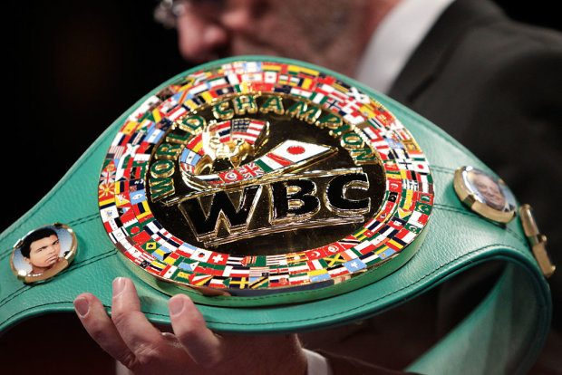 Чемпіонський пояс WBC, Getty Images