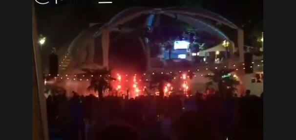 Тусовка в Одесі, скріншот з відео
