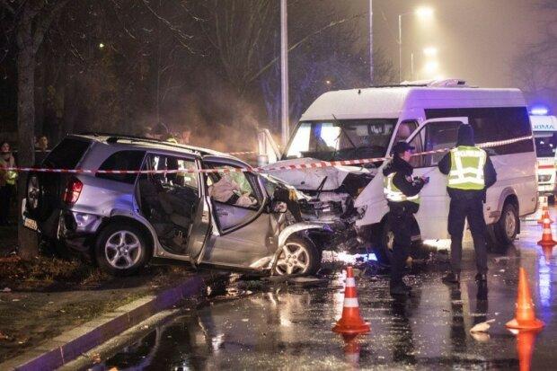 Аварія в Києві, фото: Інформатор